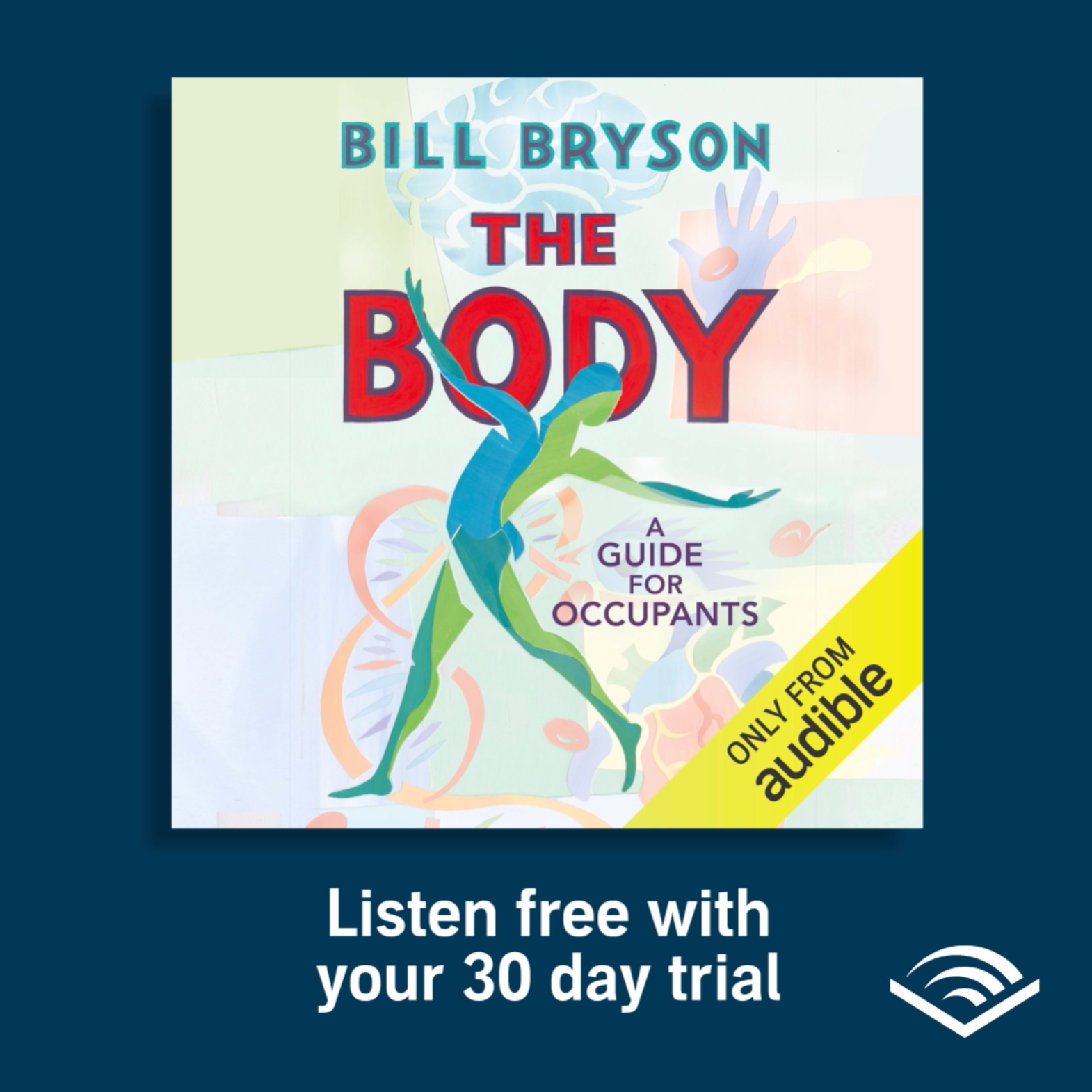 Audible UK The Body By Bill Bryson Link Thumbnail | Linktree