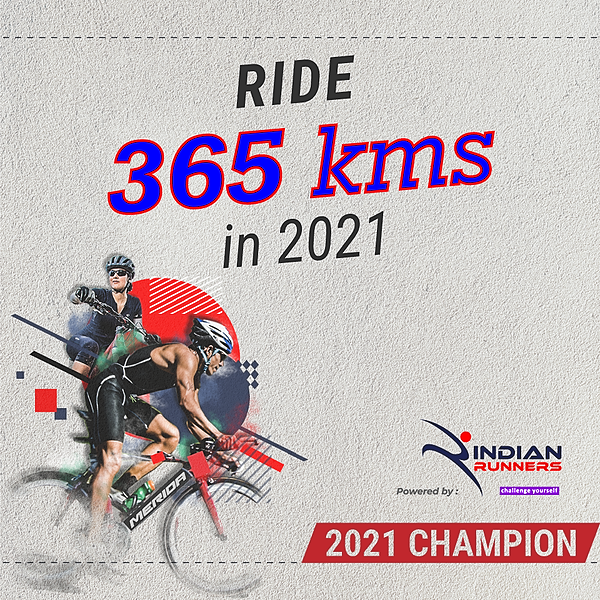 Ride 365 Kms in 2021
