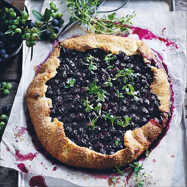 @donnahaymagazine blueberry and thyme tart Link Thumbnail   Linktree