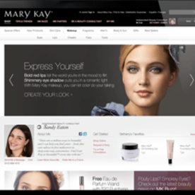 @Chrissella Website Mary Kay Link Thumbnail | Linktree