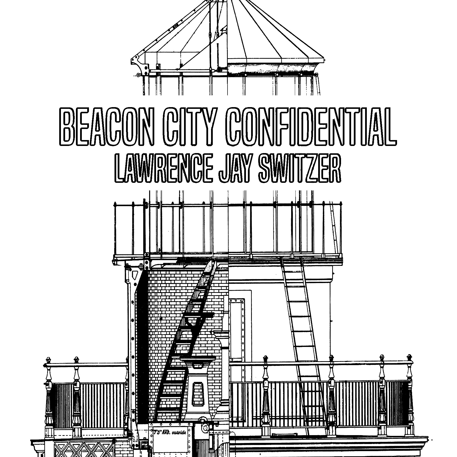 BEACON CITY CONFIDENTIAL (Kindle and print editions) Illustrated.