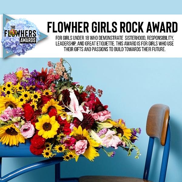Flowher Girls Rock AWARD