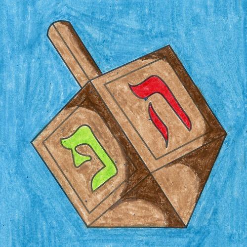 @artprojectsforkids Draw a Dreidel Link Thumbnail   Linktree