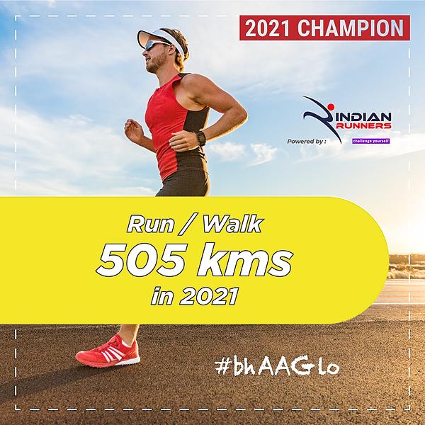 @IndianMarathon Run 505 Kms in 2021 Link Thumbnail | Linktree