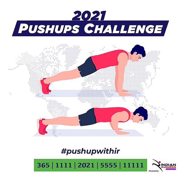 @IndianMarathon Pushups Challenge 2021 Link Thumbnail | Linktree