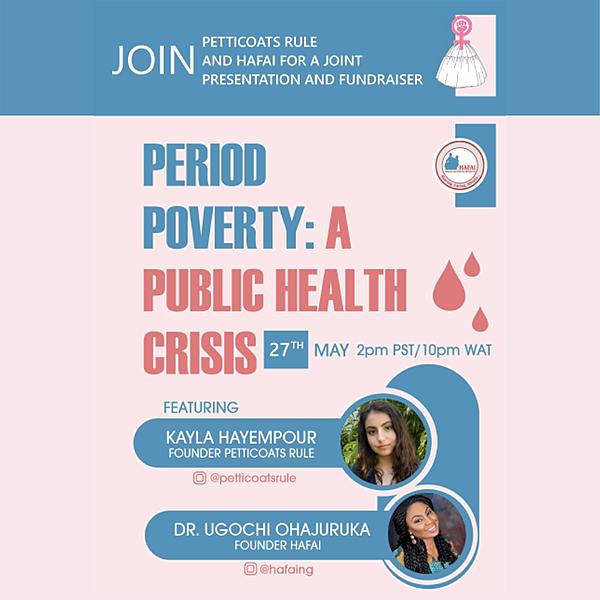 Girls Learn International Period Poverty Fundraiser Link Thumbnail | Linktree