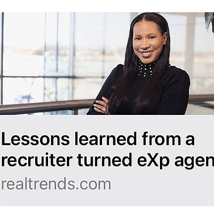 Nakia Evans | Leadership Coach Aug. 2021 REAL TRENDS NEWS ARTICLE Link Thumbnail | Linktree