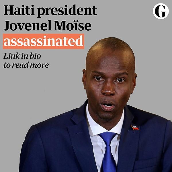@guardian Haiti president Jovenel Moïse assassinated Link Thumbnail   Linktree