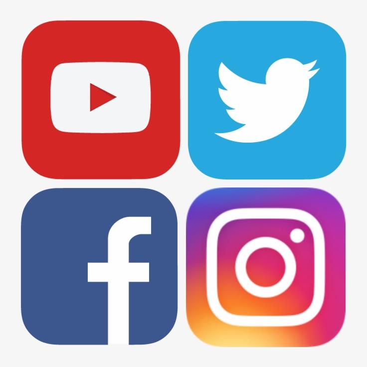 Hit me up on Social Media!