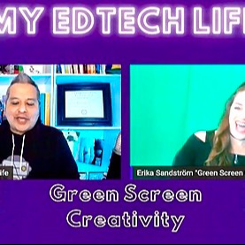 Check out Creativity Chat with @myedtechlife host Fonz!