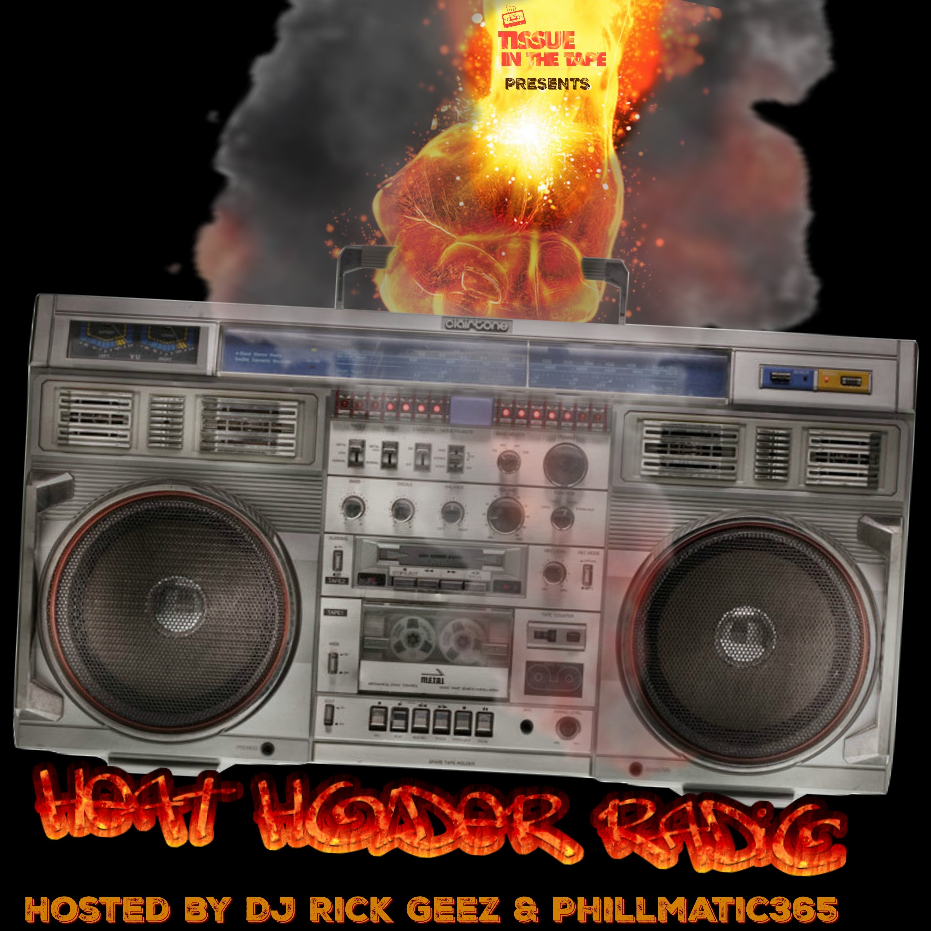 Tissue in The Tape Podcast MixCloud: HeatHolder Radio presented by Tissue in The Tape. Link Thumbnail | Linktree