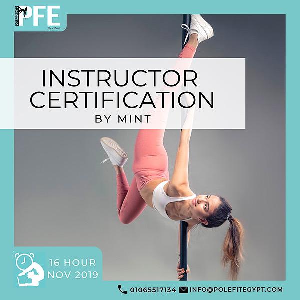 @PoleFitEgypt Pole Instructor Certification Link Thumbnail | Linktree