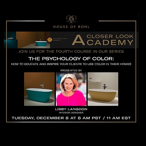 House of Rohl | Psychology of Color