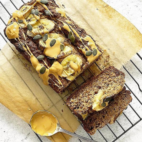 The Cordony Kitchen Lockdown Banana Bread - GF, DF, NF, RSF Link Thumbnail   Linktree