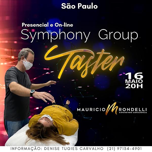 Symphony Group Taster- em São Paulo- Presencial e Online- 16/05 - 20h