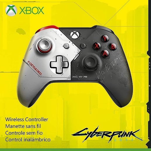 Cyber Punk Controller - BUY NOW