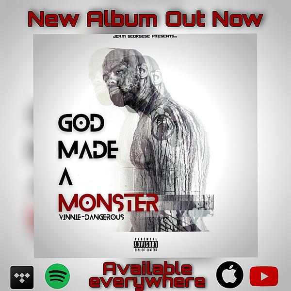 God Made A Monster LP