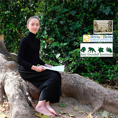 Recognition by Jane Goodall Institute - Raíces & Brotes