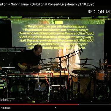 Red On + Subrihanna live at KOHI Karlsruhe (full set)