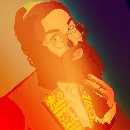 Ashleigh Loeb Drag King Persona - Rabbi Schmeckie Instagram Link Thumbnail   Linktree
