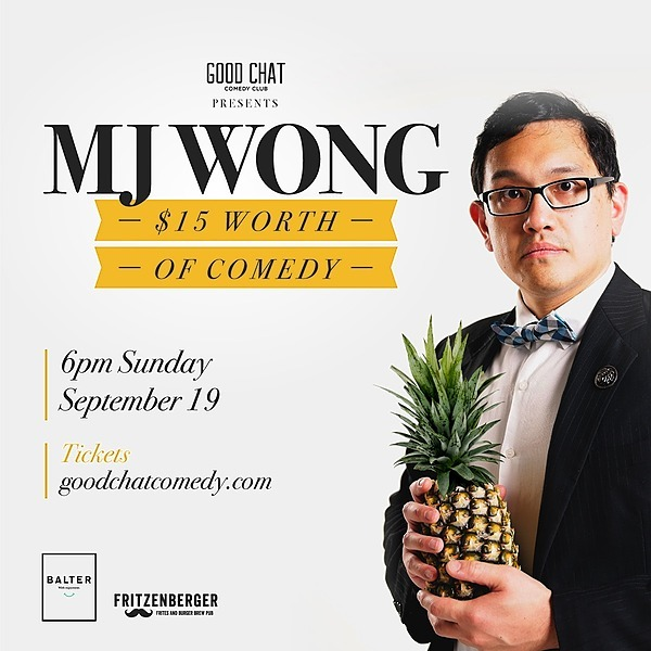 @goodchatcomedy Get tickets to MJ Wong | $15 Worth Of Comedy [Sept 19] Link Thumbnail | Linktree