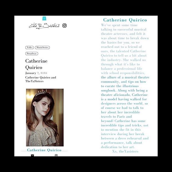 @catherinequirico 🤩Press: The Ya sisters Link Thumbnail   Linktree