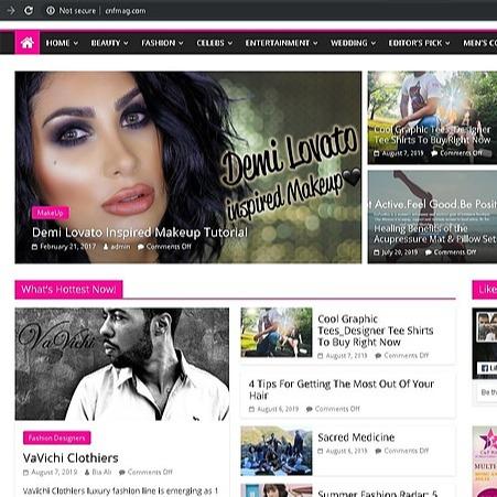 @VaVichiroyalty CNF Fashion Magazine Feature Link Thumbnail   Linktree