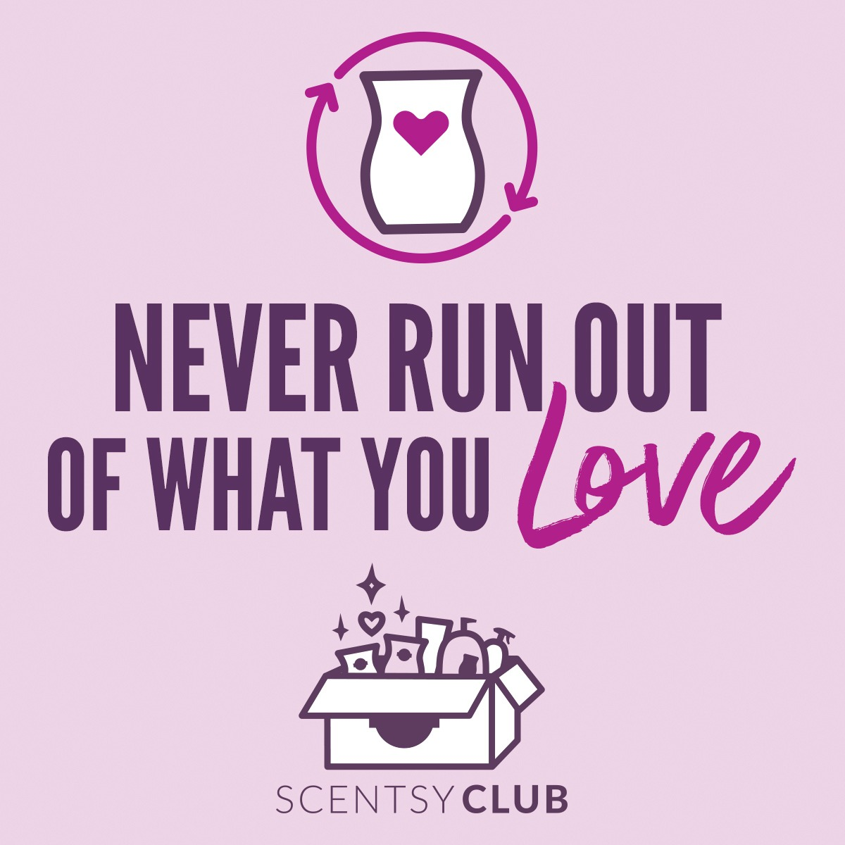 Join Scentsy Club for FREE