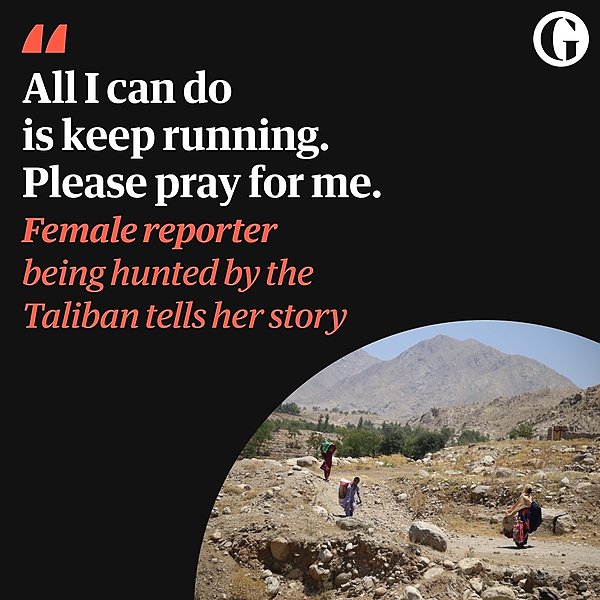 @guardian Female reporter being hunted by the Taliban tells her story Link Thumbnail   Linktree