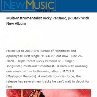 @Mystiqsonre New Music Weekly (Press) Link Thumbnail | Linktree