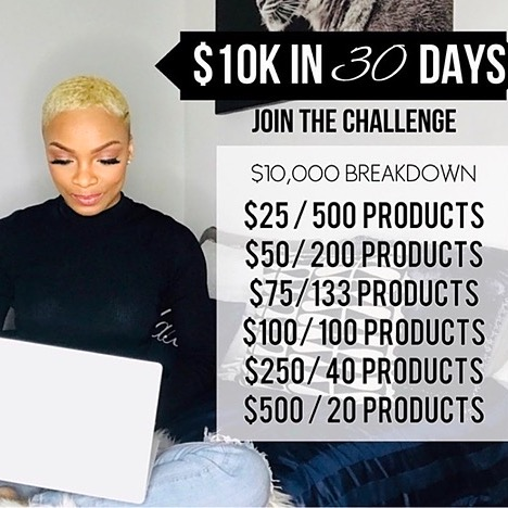 💰 How to Make $10,000 in 30 Days E-Course