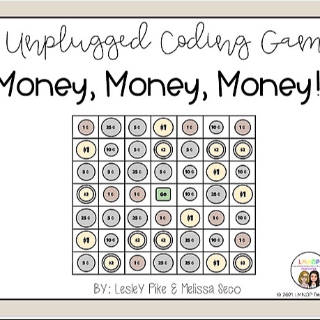 LMNOP Resources Unplugged Coding Game - Money  Link Thumbnail | Linktree