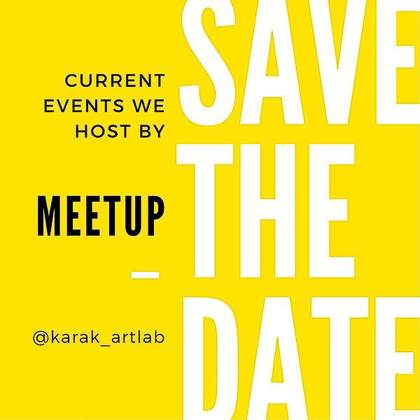 @KARAK_ARTLAB Meetup Events  Link Thumbnail | Linktree