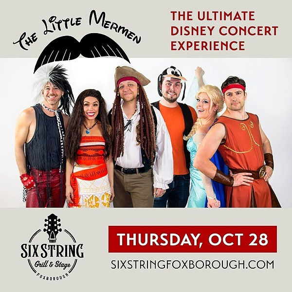 @rockonconcerts Thu 10/28 - The Little Mermen Ultimate Disney Concert Experience @ Six String Grill & Stage, Foxborough MA - On Sale Fri 6/8 10am Link Thumbnail | Linktree