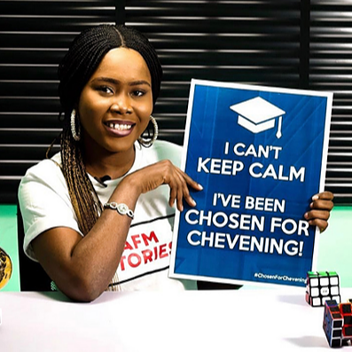 Founder of The African Writers Faith Moyosore Agboola Awarded a Chevening Scholarship