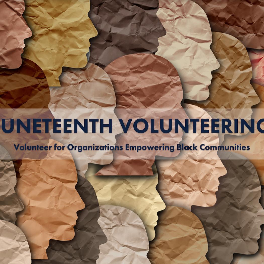 @adobespark Juneteenth Volunteering Link Thumbnail | Linktree