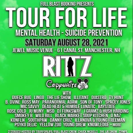 Full Blast TOURFORLIFE 8/28 NH feat. Rittz, Copywrite + more Link Thumbnail | Linktree