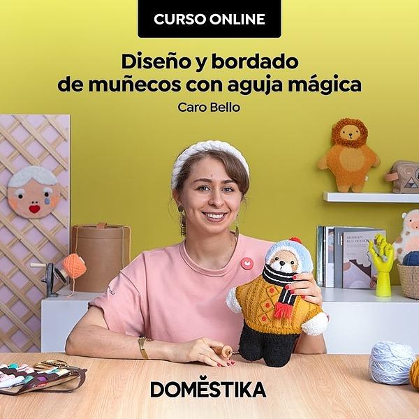 @porcarobello Curso 2: Diseño y bordado de muñecos con aguja mágica Link Thumbnail | Linktree