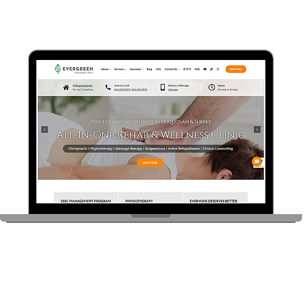 Rehab & Wellness Clinic OFFICIAL SITE [English] 에버그린 공식 웹사이트 Link Thumbnail   Linktree