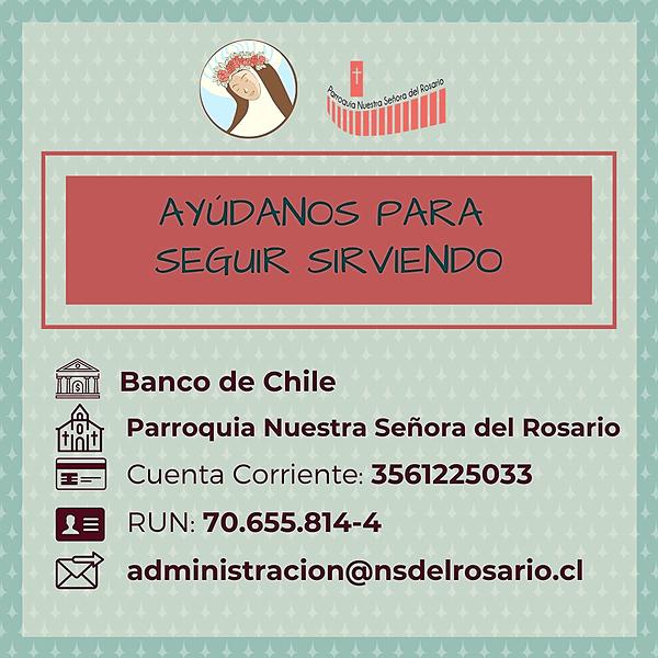 @Capilla_Santa_Rosa Información para hacer transferencias Link Thumbnail | Linktree