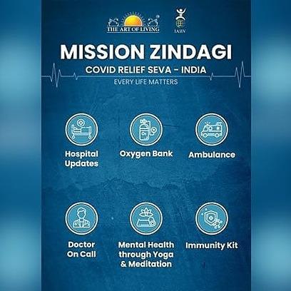 Art Of Living Mission Zindagi (covidsevaindia) Profile Image   Linktree