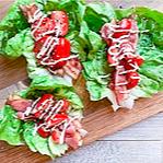 BLT Lettuce Wraps Recipe