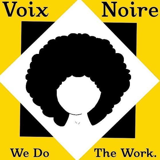 Voix Noire Website Link Thumbnail | Linktree
