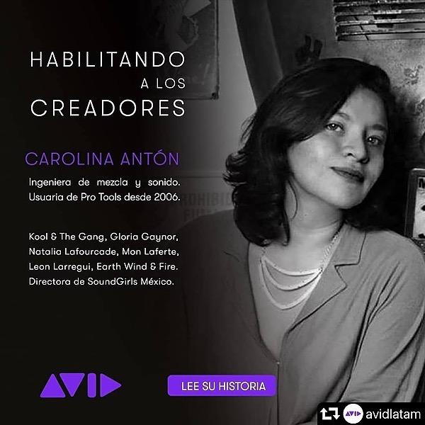 Carolina Antòn Entrevista para Avid LATAM  Link Thumbnail | Linktree
