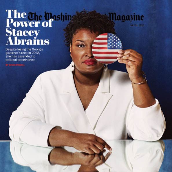 "MUST READ! ""The Power of Stacey Abrams"" by Kevin Powell (in The Washington Post Magazine, May 2020)"
