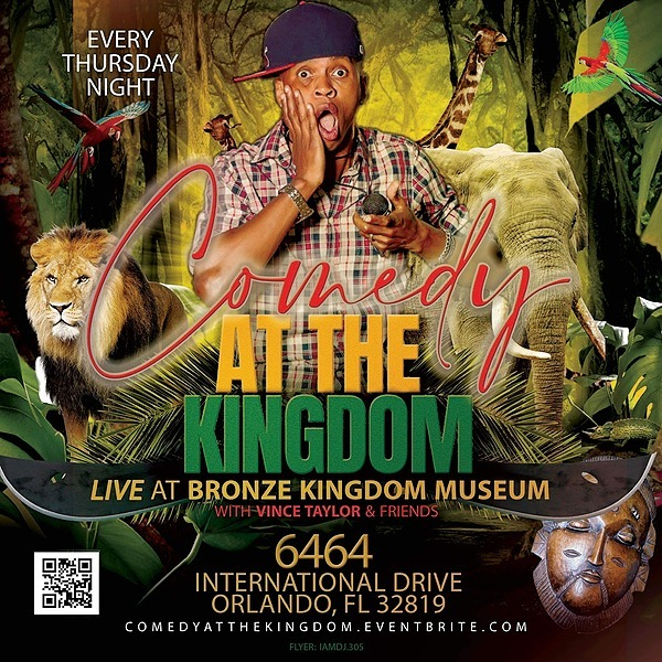 The REAL Vince Taylor Tickets to COMEDY at the KINGDOM 🎟 Link Thumbnail | Linktree