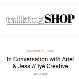 Talking Shop Article