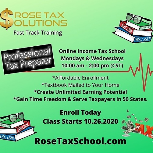 Become a Tax Accountant with our Fast Track Tax School