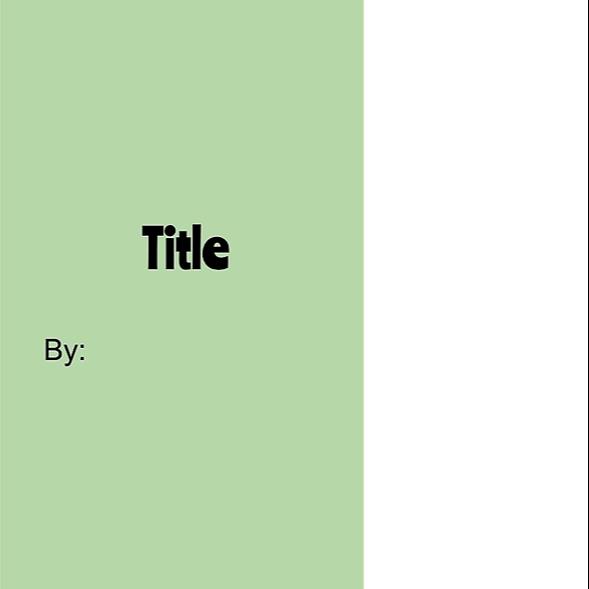 Digital Storybook Template