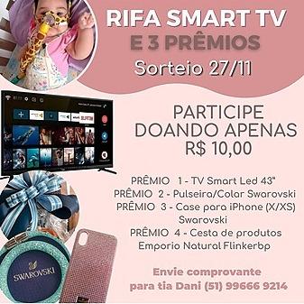 @amemanu Rifa Smart TV | Falar com Dani  Link Thumbnail | Linktree